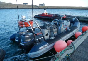 Kelpie is a purpose built Ribcraft 6.8m x Rigid Inflatable.