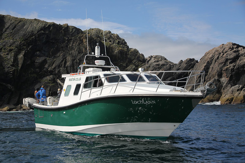 Interceptor 42 built by Safehaven Marine